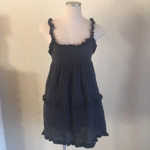 urban outfitters ruched mini dress